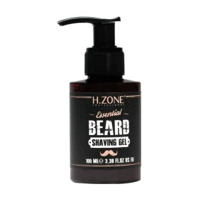 H.ZONE ESSENTIAL BEARD SHAVING GEL ŻEL DO GOLENIA BRODY 100ML