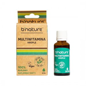 B'NATURE MULTIVITAMINA KROPLE 30ML