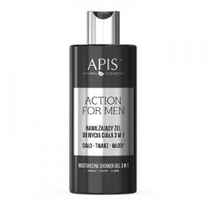 APIS ACTION FOR MEN ŻEL DO MYCIA CIAŁA 3W1 300ML