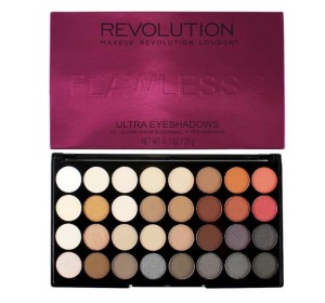 MAKEUP REVOLUTION FLAWLESS 2 PALETA 32 CIENI
