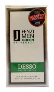 FENZI DESSO GREEN MEN WODA PERFUMOWANA 100 ML